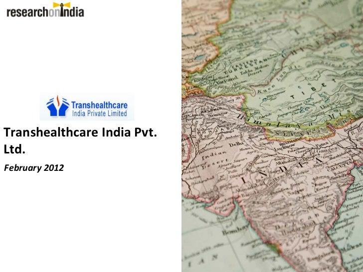 Transhealthcare - Company Profile