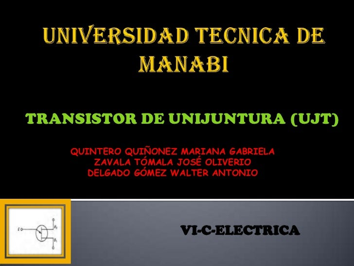 Transistor de unijuntura