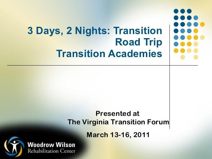 WWRC - Transition Academies 2011