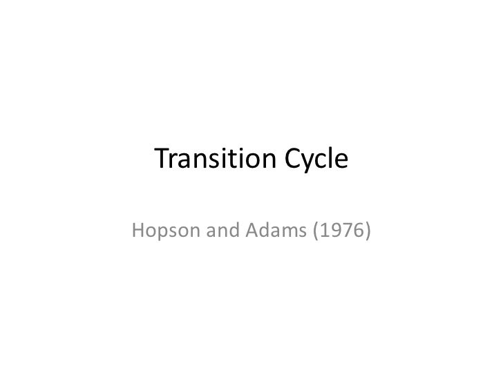 Transition CycleHopson and Adams (1976)