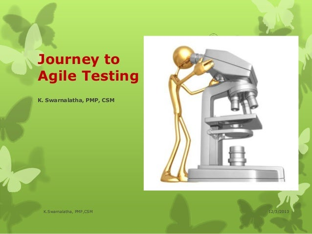 Journey to agile testing