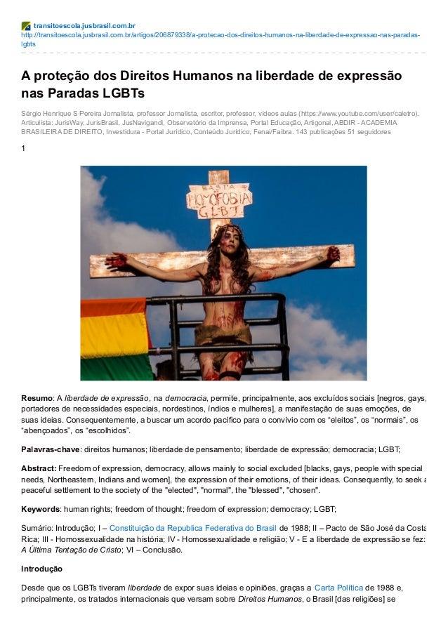 transitoescola.jusbrasil.com.br http://transitoescola.jusbrasil.com.br/artigos/206879338/a-protecao-dos-direitos-humanos-n...