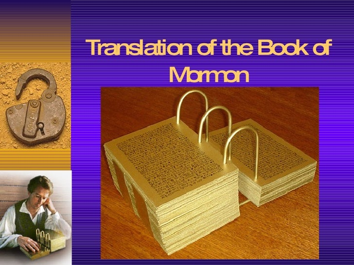 Translation of the Book of Mormon