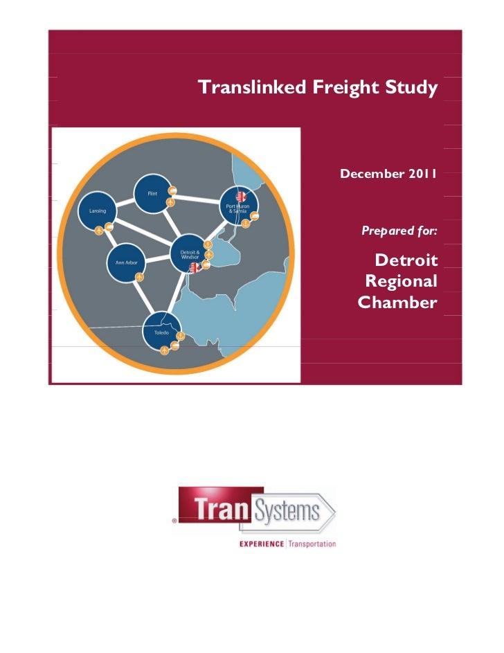 Translinked Regional Freight Study