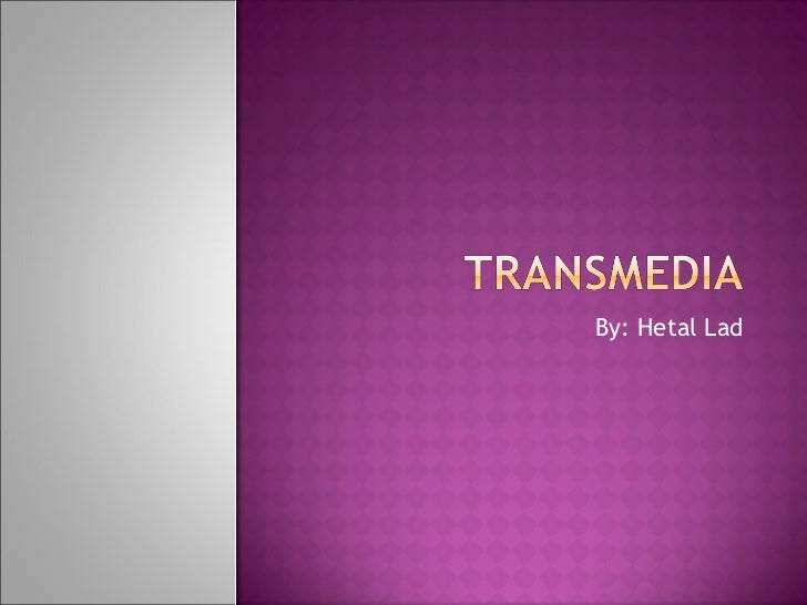 Transmedia presentation