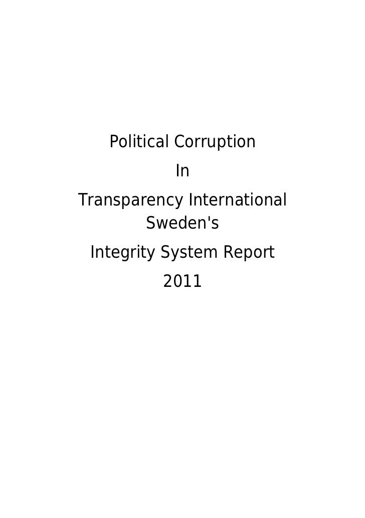 Transparency integritycorruption 1