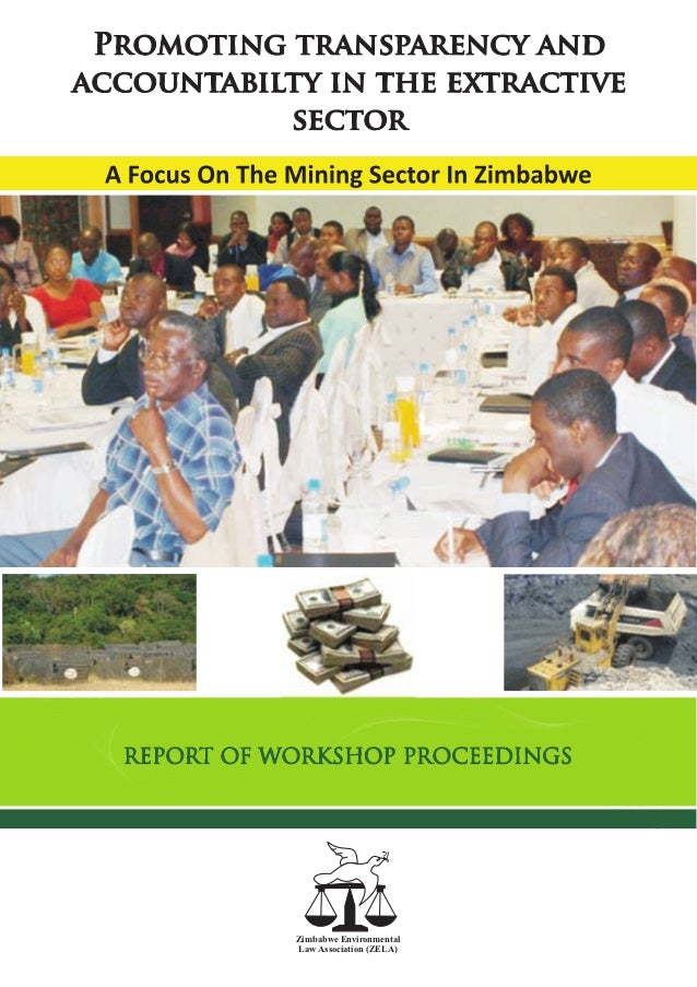Transparency in the extractive sector miningg