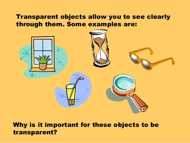 Translucent Objects