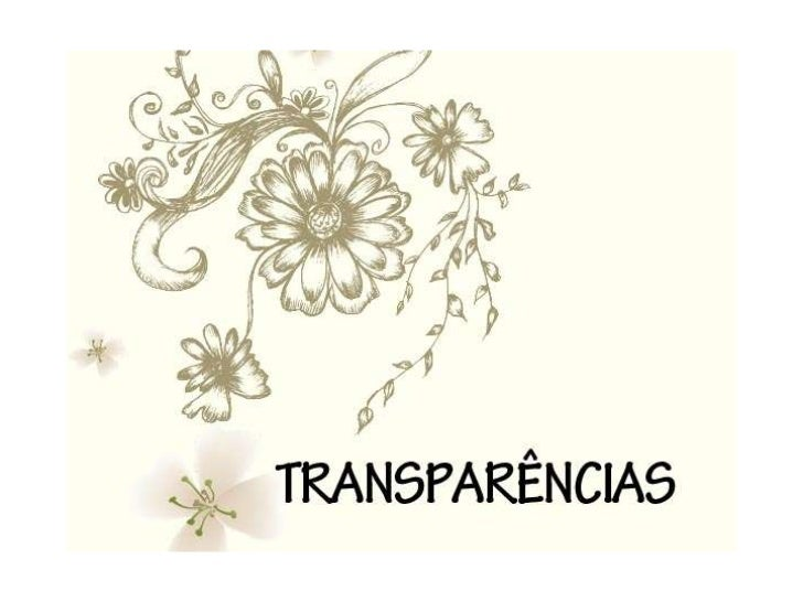 Transparências