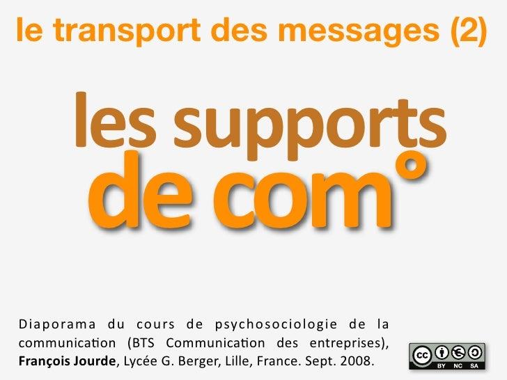le transport des messages (2)           !quot;#$#%&&'()#$           0quot;$1'23 !quot;#$%&#'#( )*( +%*&,( )-( $,.+/%,%+quo...