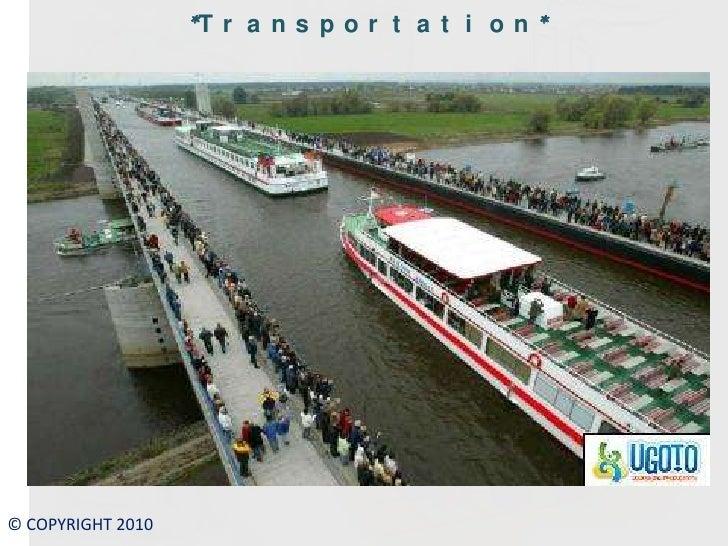 Transport water