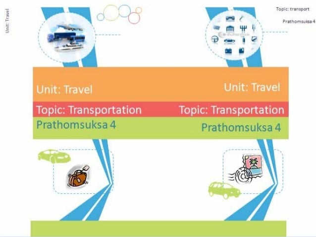 Unit: Travel Topic: Transportation Do you like to travel? Do you like to travel by train?