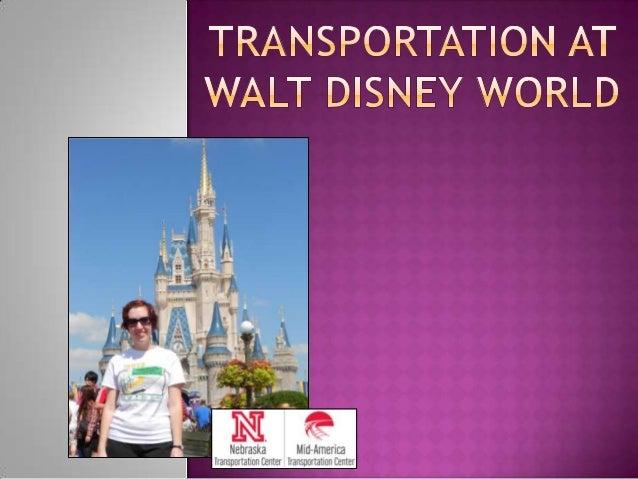 Transportation at Walt Disney World