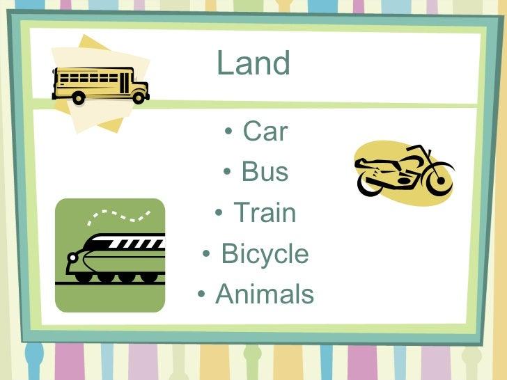 essay land transport