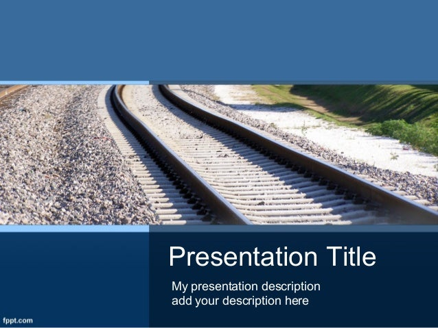 free transportation powerpoint templates and backgrounds