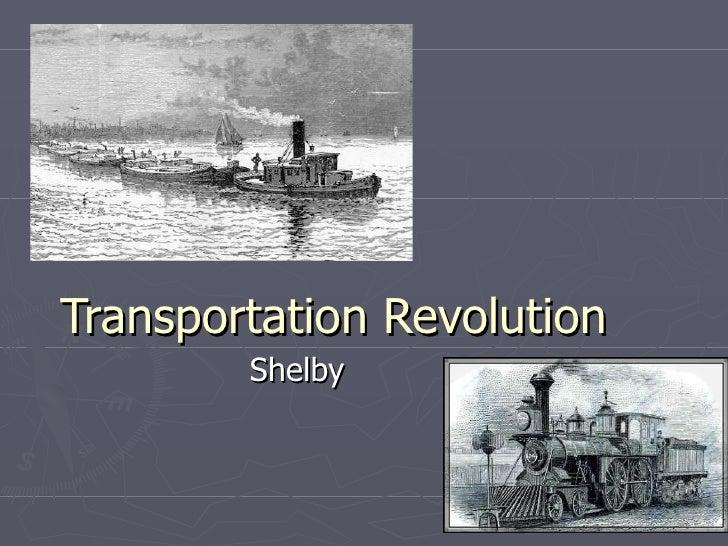 Transportation Revolution Shelby
