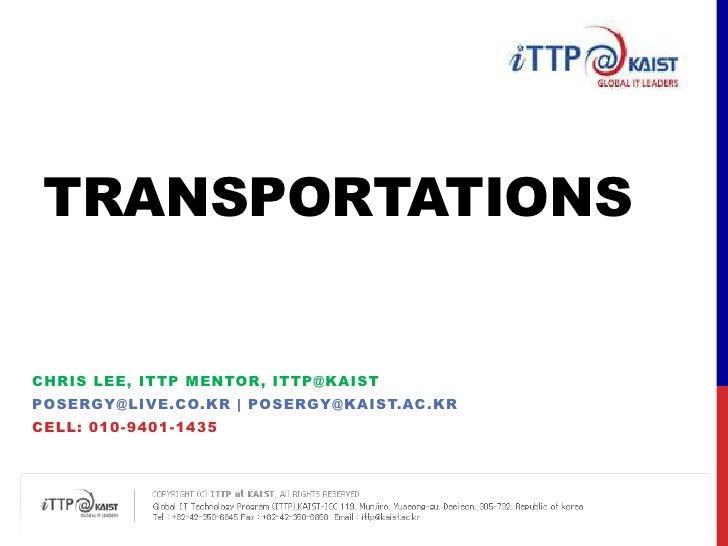 [ITTP]Mentor Guide_Transportation