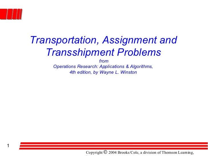 Transportation winston