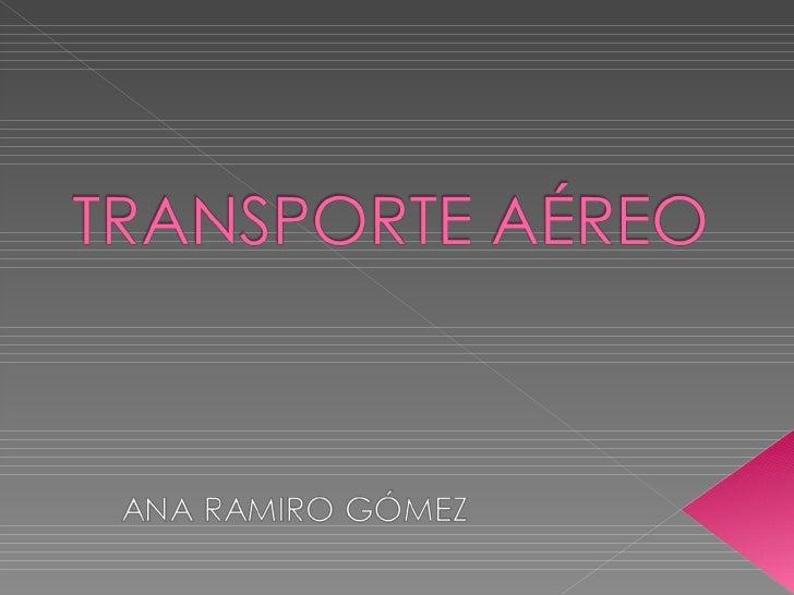  Encargadas de transporte de personas y  mercancias. Código de la IATA