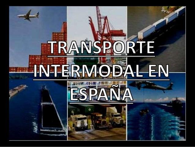 espana transporte: