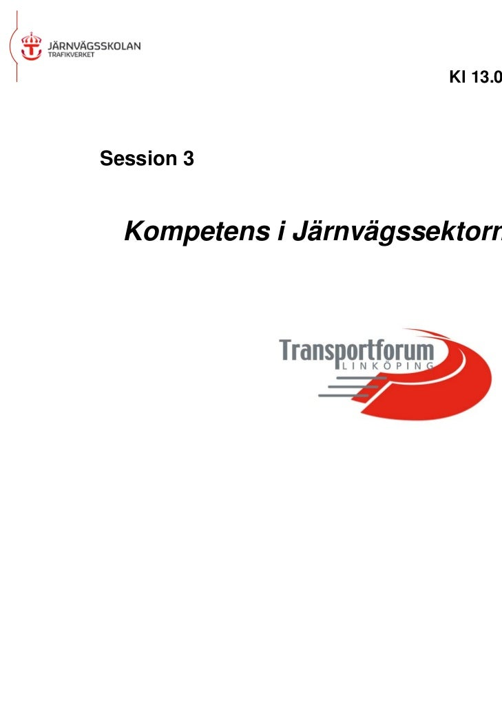 Session 3 Jerker Sundström