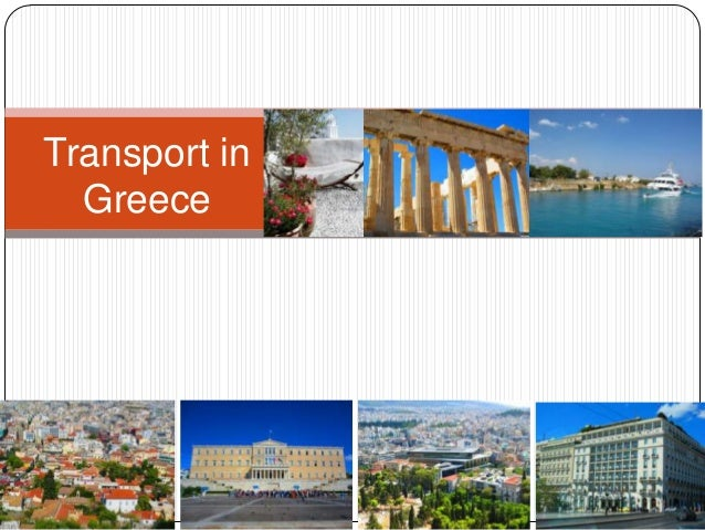 Transport system in Greece