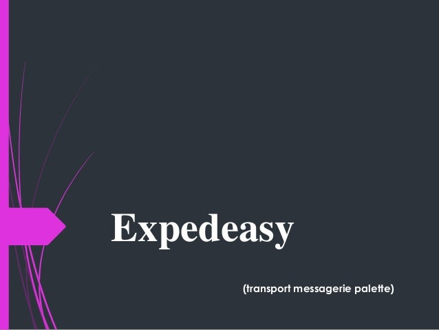 Expedeasy (transport messagerie palette)