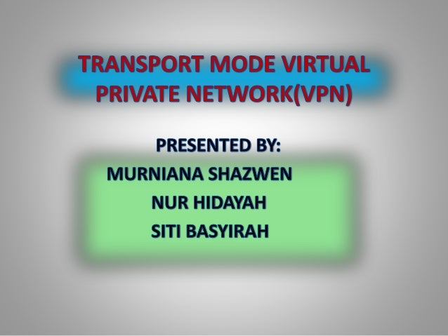 VIRTUAL PRIVATE NETWORK is a private and secure network connection between systems that uses the data communication capabi...