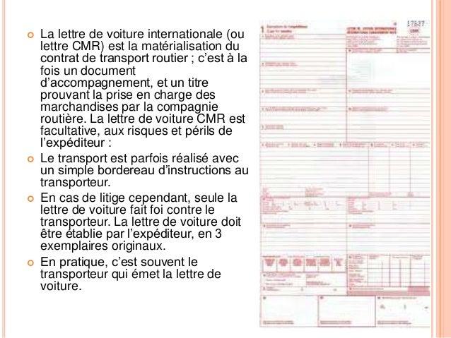 Modele document de transport