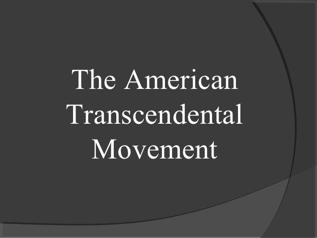 Transcendenalism Power Point