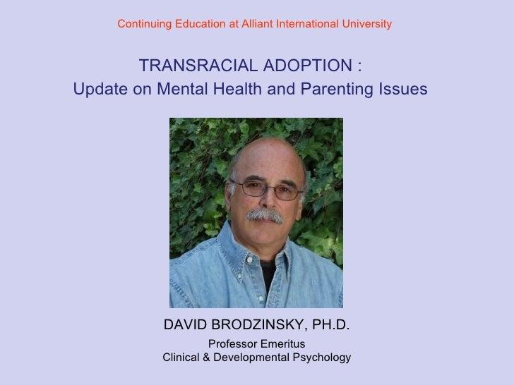 Transracial Adoption1 1
