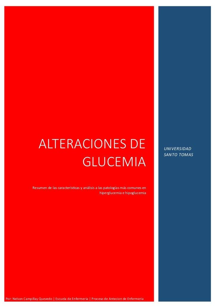 ALTERACIONES DE                                                         UNIVERSIDAD                                       ...