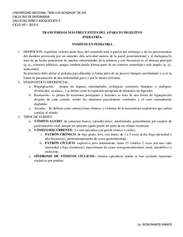 """UNIVERSIDAD NACIONAL """"SAN LUIS GONZAGA"""" DE ICA FACULTAD DE ENFERMERIA SALUD DEL NIÑO Y ADOLESCENTE II CICLO VIII – 2013-II..."""