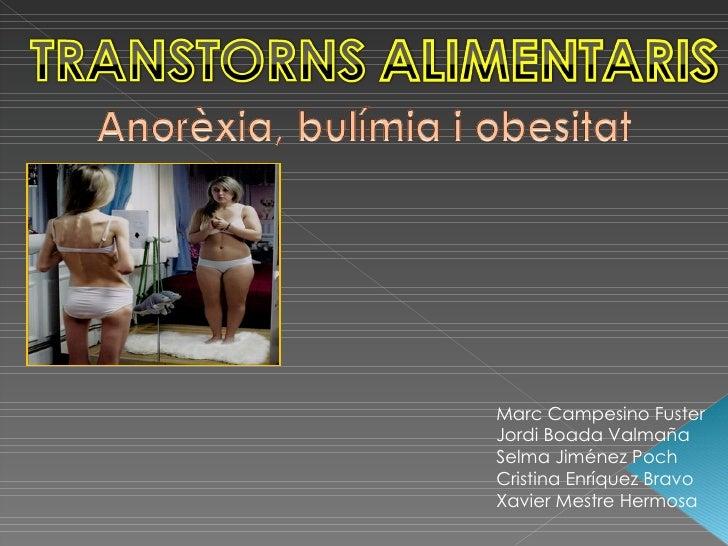 Transtorns Alimentaris 2