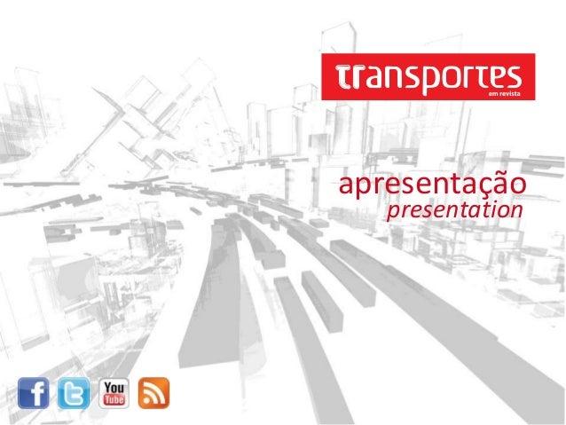 presentation apresentação