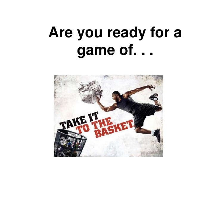 Are you ready for a game of. . . <br />