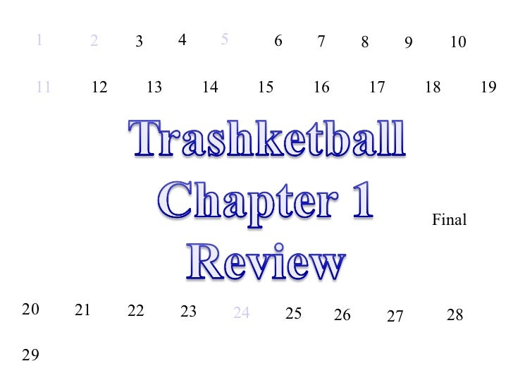 Chapter 1 Trashketball review