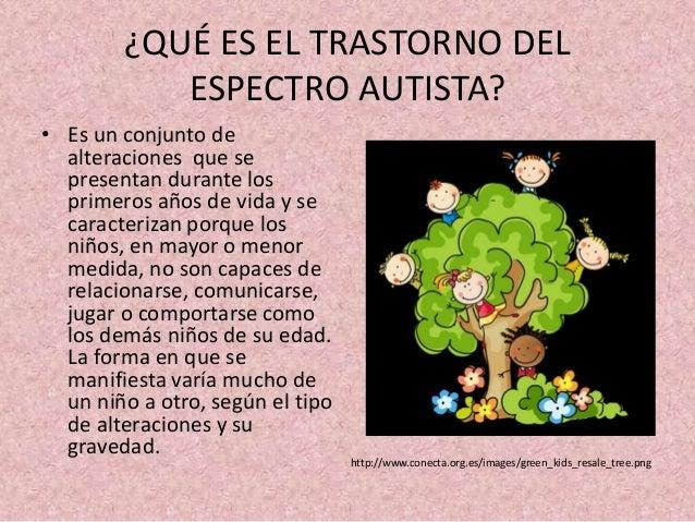 Que es un trastorno de espectro autista