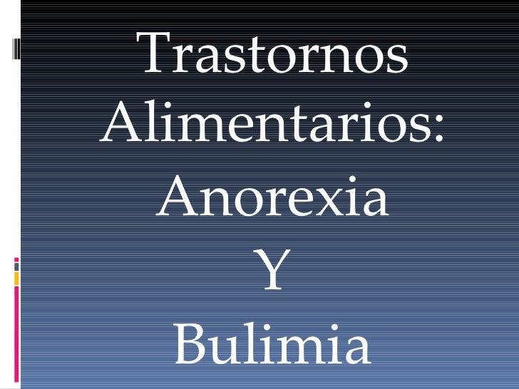 Resultado de imagen para bulimia y anorexia comparaciones
