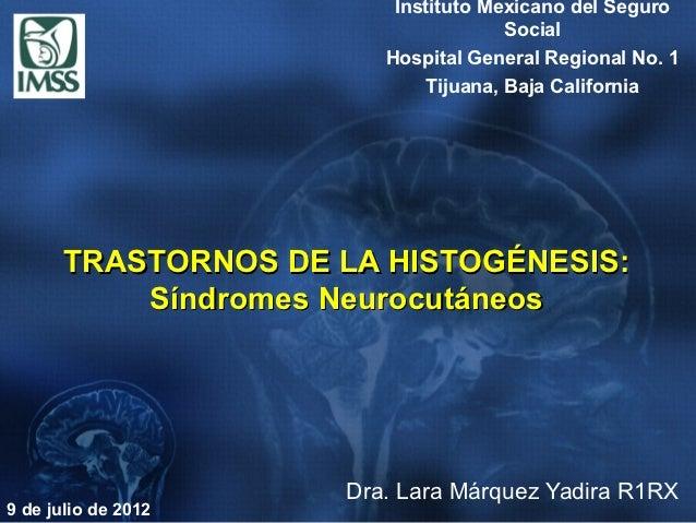 Trastornos de la histogénesis