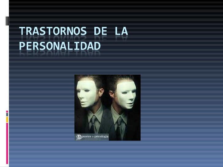 Personalidad Si se acepta que la personalidad es un  concepto que resume la idiosincracia  funcional de cada individuo, n...