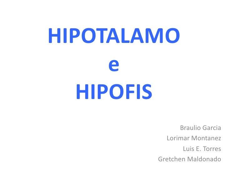 Trastornos hipotalamo hipofisiarios copy