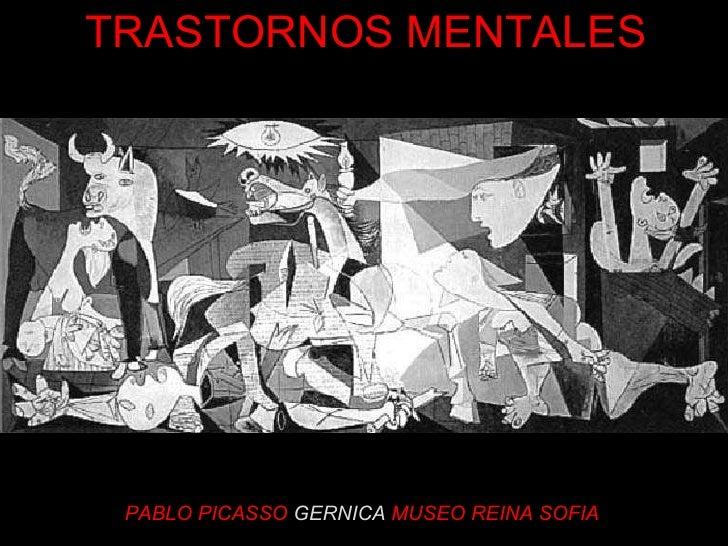 PABLO PICASSO   GERNICA   MUSEO REINA SOFIA TRASTORNOS MENTALES