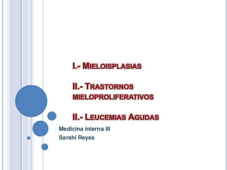 Medicina interna IIISarahi Reyes