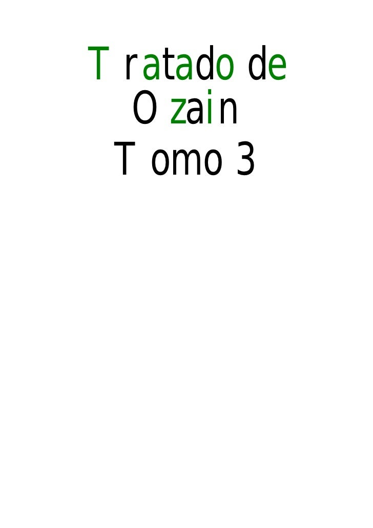 Tratado ozain-tomo-3