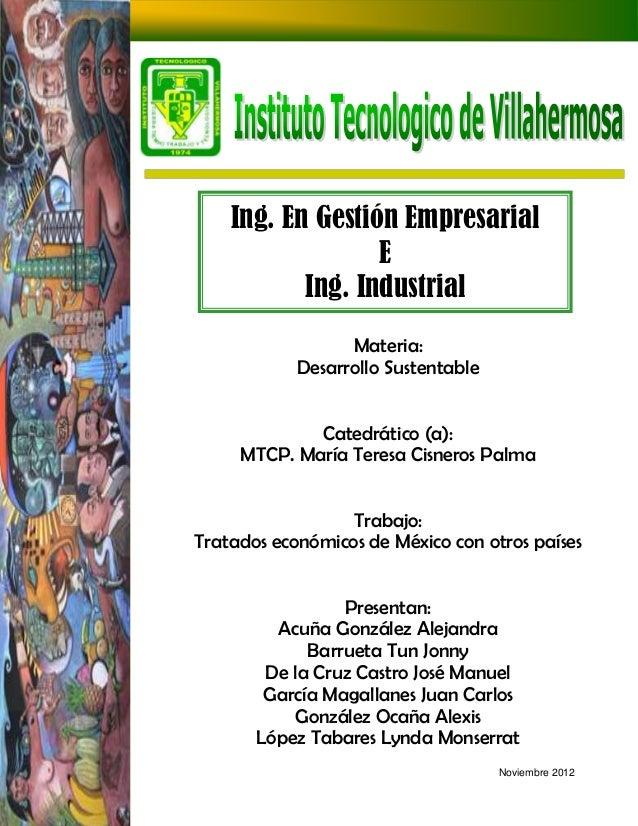 Ing. En Gestión Empresarial                  E           Ing. Industrial                  Materia:            Desarrollo S...