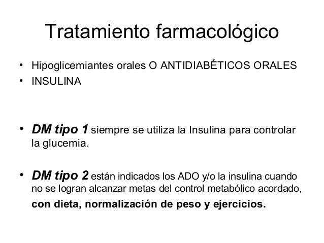 Tratamiento Farmacológico de la Diabetes Mellitus