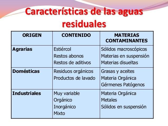 Tipos De Plantas De Tratamiento De Aguas Residuales