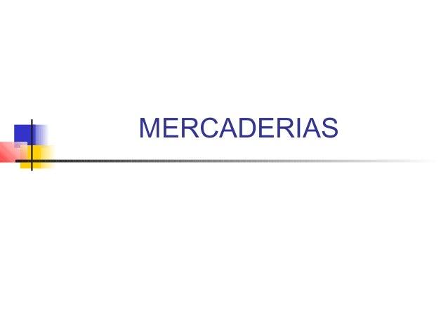 MERCADERIAS