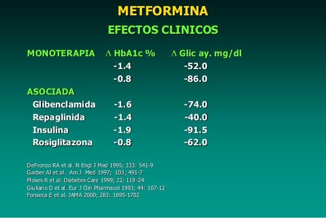 Tratamiento farmacologico dm2